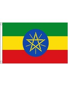 Ethiopia with Star Flag (60x90cm)