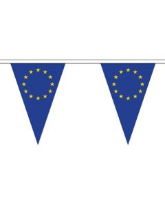 European Union Triangle Buntings 5m (12 flags)
