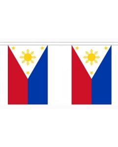 Philippines Buntings 3m (10 flags)