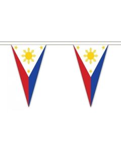 Philippines Triangle Buntings 20m (54 flags)