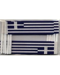 Greece Toothpick Paper Flags (30x48mm)