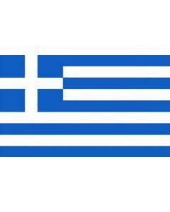 Greece Satin Flag (15x22cm)