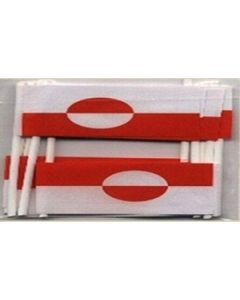 Greenland Toothpick Paper Flags (30x48mm)
