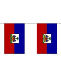 Haiti Buntings 3m (10 flags)