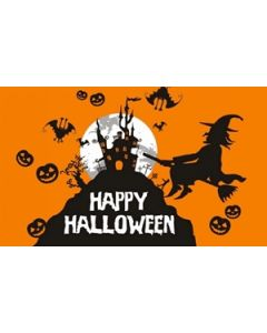 Halloween Orange Flag (60x90cm)