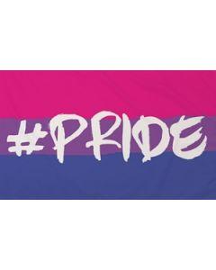 Hashtag Pride (Bisexual) Flag (90x150cm)