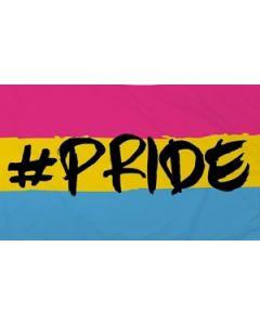 Hashtag Pride (Pansexual) Flag (90x150cm)
