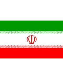 Iran Satin Flag (15x22cm)