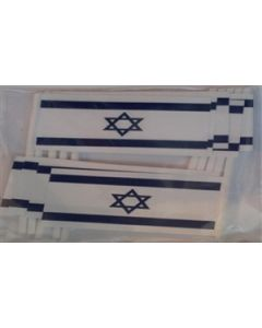 Israel Toothpick Paper Flags (30x48mm)