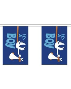 Its a Boy Buntings 3m (10 flags)