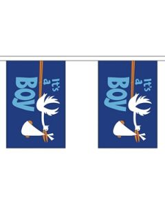 Its a Boy Buntings 9m (30 flags)