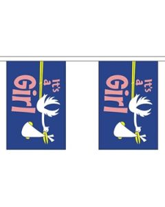 Its a Girl Buntings 9m (30 flags)