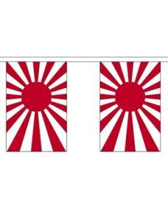 Japan Rising Sun Buntings 9m (30 flags)