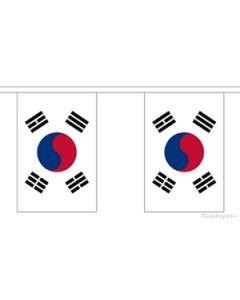 South Korea Buntings 9m (30 flags)