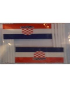 Croatia Toothpick Paper Flags (30x48mm)