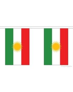 Kurdistan Buntings 9m (30 flags)