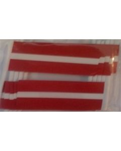Latvia Toothpick Paper Flags (30x48mm)