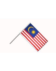 Malaysia Hand Flag (15x22cm)