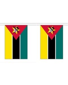 Mozambique Buntings 9m (30 flags)