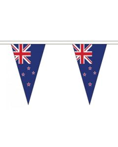 New Zealand Triangle Buntings 20m (54 flags)