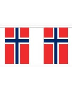 Norway Paper Buntings 4m - 10 flags (A4)