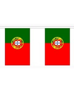 Portugal Buntings 3m (10 flags)