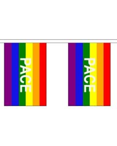 Rainbow Pace Buntings 3m (10 flags)