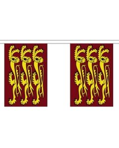 Richard The Lionheart Buntings 3m (10 flags)