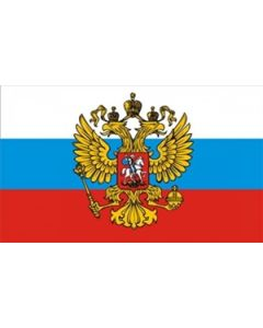 Russia with Eagle Flag (90x150cm)