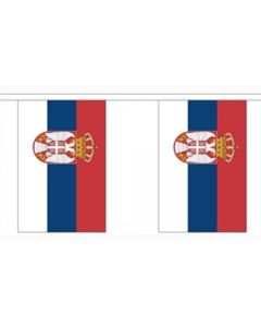 Serbia State of Buntings 3m (10 flags)