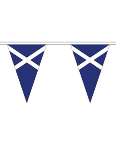 Scotland Triangle Buntings 5m (12 flags)