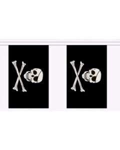 Skull and Crossbones Buntings 3m (10 flags)