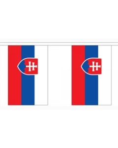 Slovakia Buntings 3m (10 flags)