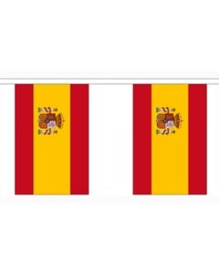 Spain State of Buntings 3m (10 flags)