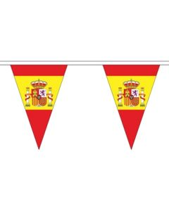 Spain State Triangle Buntings 5m (12 flags)