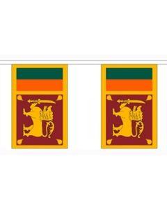 Sri Lanka Buntings 9m (30 flags)