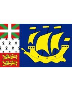 St Pierre Flag (90x150cm)