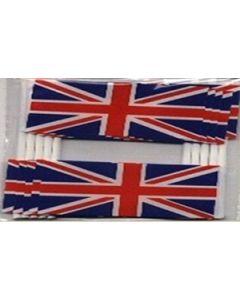 United Kingdom Toothpick Paper Flags (30x48mm)