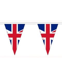 United Kingdom Triangle Buntings 5m (12 flags)