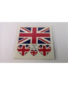 Great Britain Tattoo (6x6cm)