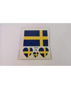 Sweden Tattoo (6x6cm)
