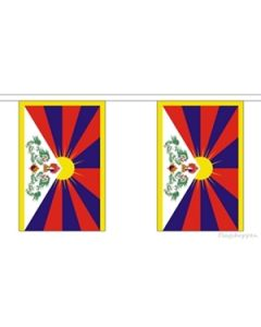 Tibet Buntings 3m (10 flags)