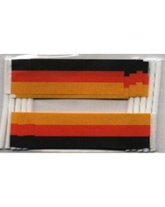 Germany Toothpick Paper Flags (30x48mm)