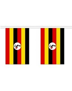 Uganda Buntings 9m (30 flags)