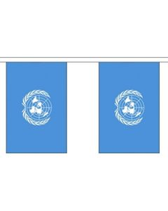 United Nations Buntings 3m (10 flags)