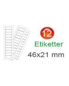 United Kingdom Stickers (21x46mm)