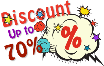 Offer - Up to 70% off
